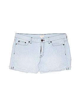 J. Crew Collection Denim Shorts Size 26W