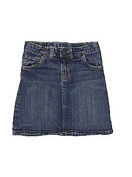 L.L.Bean Denim Skirt Size 8