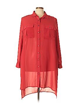 PREMISE Long Sleeve Blouse Size 3X (Plus)