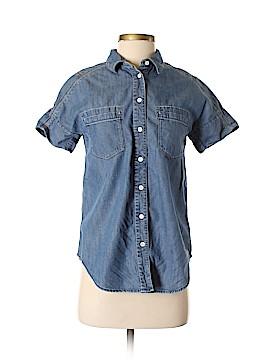 Fossil Short Sleeve Button-Down Shirt Size XS