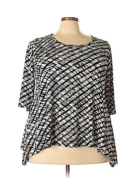 Karen Kane 3/4 Sleeve Top Size 2X (Plus)