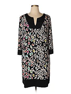 Nicole by Nicole Miller Casual Dress Size 2X (Plus)