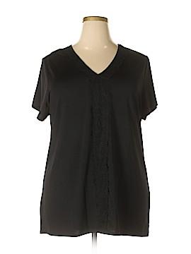 Ruby Ribbon Short Sleeve Top Size XXL