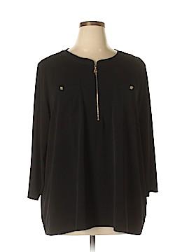 Anne Klein Long Sleeve Top Size 3X (Plus)