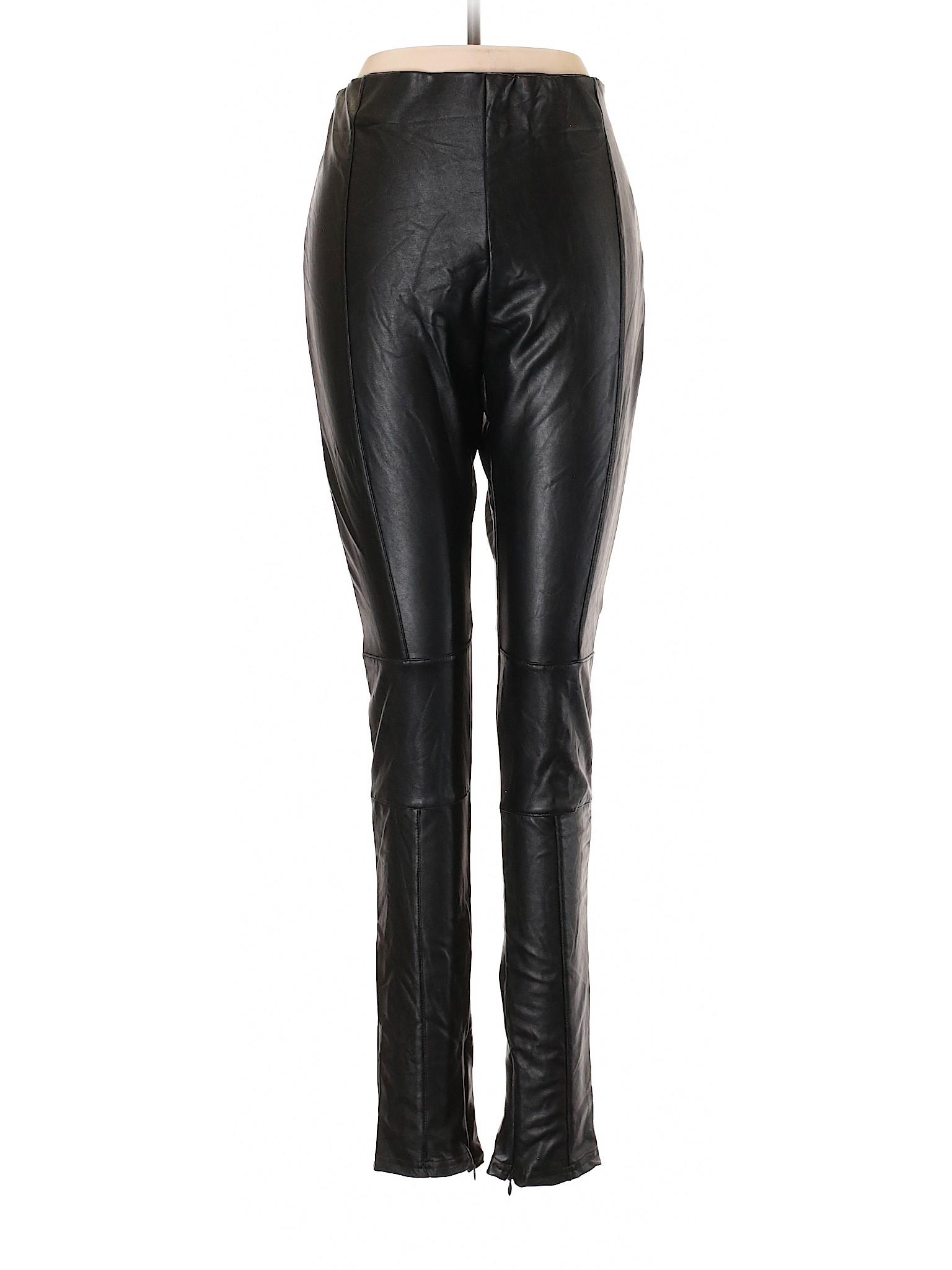 Faux Young winter Pants Bishop Boutique Leather t1wqaURF