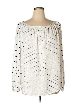 Ann Taylor LOFT Long Sleeve Blouse Size XXL