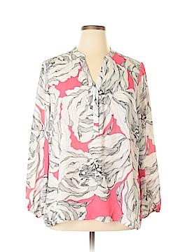 Alfani Long Sleeve Blouse Size 16