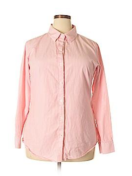 Steve & Barry's Long Sleeve Button-Down Shirt Size XXL
