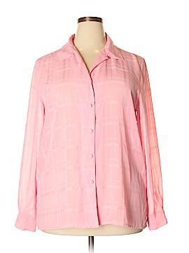 Liz Baker Long Sleeve Blouse Size 18 (Plus)