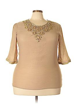 Ire 3/4 Sleeve Blouse Size XXL