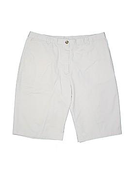 Lands' End Khaki Shorts Size 16w