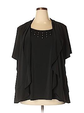 Essentials Short Sleeve Top Size 3X (Plus)