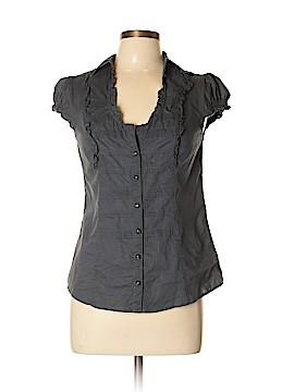 Edme & Esyllte Short Sleeve Button-Down Shirt Size 10