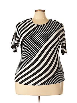 Fenn Wright Manson Short Sleeve Top Size 2X (Plus)