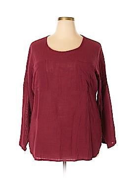 Zanzea Collection Long Sleeve Blouse Size XXXL (Plus)