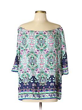 Artisan NY 3/4 Sleeve Blouse Size XL