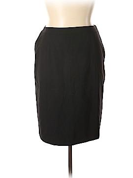 Lafayette 148 New York Wool Skirt Size 14