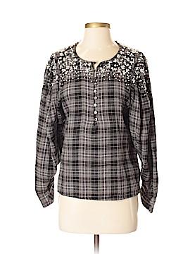 Akemi + Kin 3/4 Sleeve Button-Down Shirt Size S