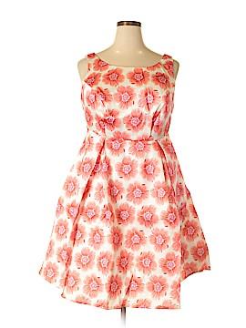 Liza Luxe Casual Dress Size 1X (Plus)