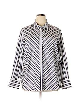 Jones New York Long Sleeve Button-Down Shirt Size 3X (Plus)