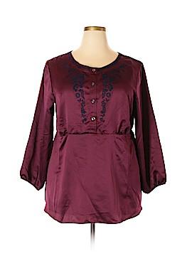 Avon 3/4 Sleeve Blouse Size 1X (Plus)