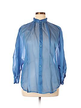 Ralph Lauren Black Label Long Sleeve Button-Down Shirt Size 14