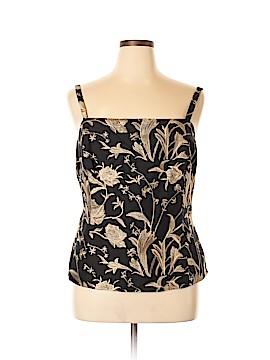 Dana Buchman Sleeveless Silk Top Size 16