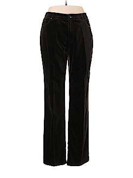 Ellen Tracy Velour Pants Size 10