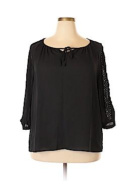 Zac & Rachel 3/4 Sleeve Blouse Size XXL