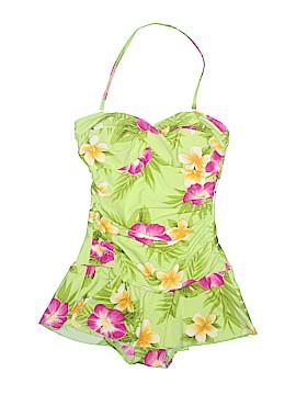 Beach Bay One Piece Swimsuit Size 10