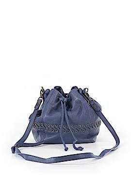 Joelle Hawkens by Treesje Leather Bucket Bag One Size