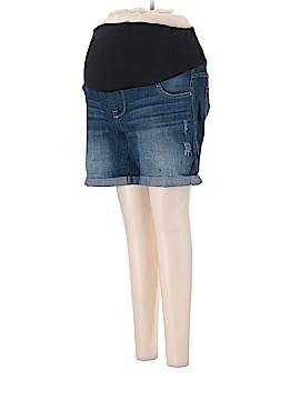 Oh Baby By Motherhood Denim Shorts Size M (Maternity)
