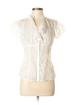 I.N. San Francisco Short Sleeve Button-Down Shirt Size L