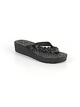 Clarks Flip Flops Size 9