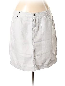 J.jill Denim Skirt Size 12