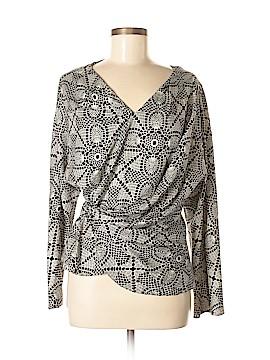 Thakoon Long Sleeve Silk Top Size 8