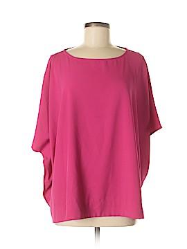 JM Collection Short Sleeve Blouse Size M