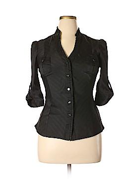 Bebe 3/4 Sleeve Blouse Size L