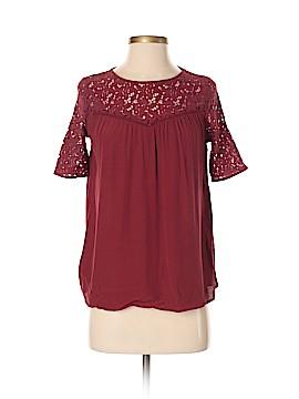 Zara Basic Short Sleeve Top Size S