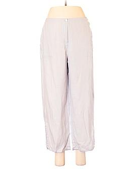 Johnny Was Linen Pants Size M