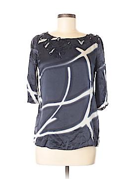 Elie Tahari Short Sleeve Silk Top Size XS