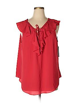 A. Byer Short Sleeve Blouse Size 3X (Plus)