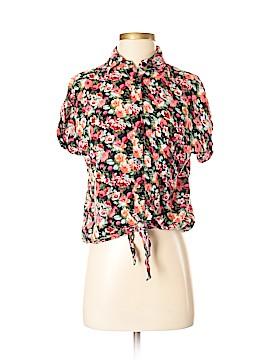 Kirra Short Sleeve Button-Down Shirt Size 2