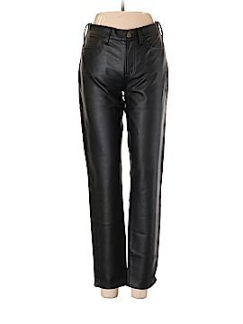 J. Crew Factory Store Faux Leather Pants 28 Waist