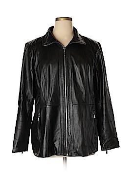MICHAEL Michael Kors Leather Jacket Size XXL