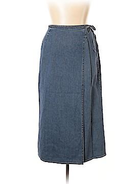Eddie Bauer Denim Skirt Size 14
