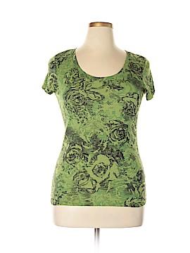 Nicole Miller New York City Short Sleeve T-Shirt Size L