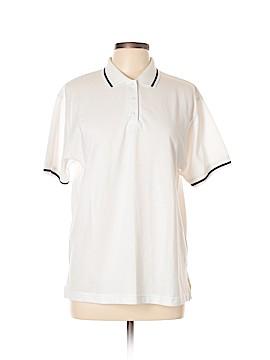Karen Scott Short Sleeve Polo Size L