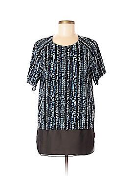 DKNYC Short Sleeve Blouse Size M