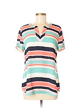 Van Heusen Short Sleeve Blouse Size M